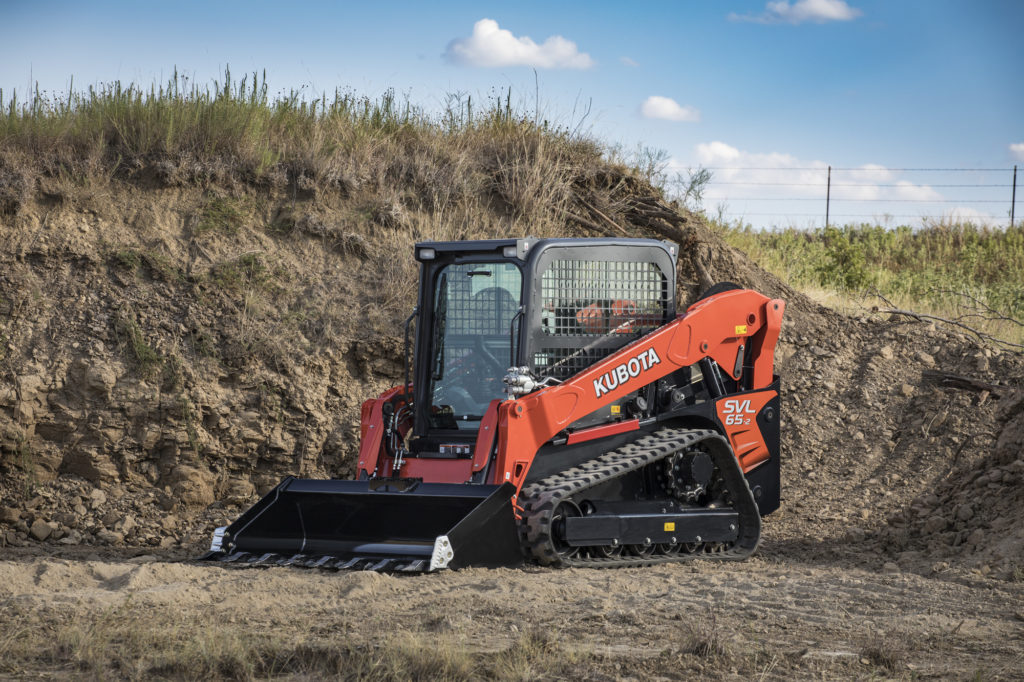 Kubota introduces the new small-but-mighty SVL65-2 compact track loader.